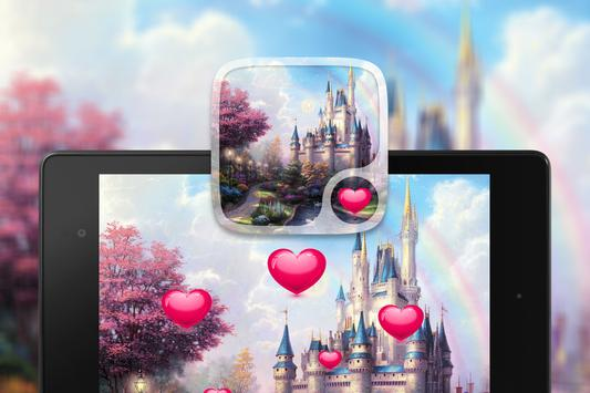 Fairy tale Hearts Wallpaper screenshot 4
