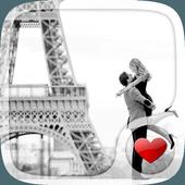 Cute Paris Love Wallpaper APK