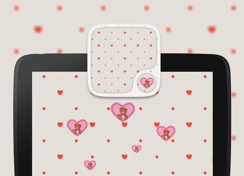 Teddy bear Hearts Wallpapers screenshot 3