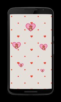 Teddy bear Hearts Wallpapers screenshot 2
