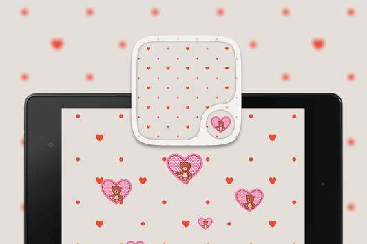 Teddy bear Hearts Wallpapers screenshot 4