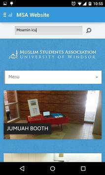 UWindsor MSA apk screenshot