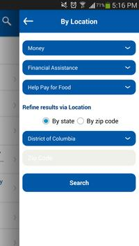 National Capital Region 2-1-1 apk screenshot