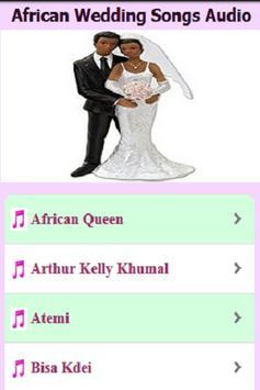 African Wedding Songs Audio screenshot 2