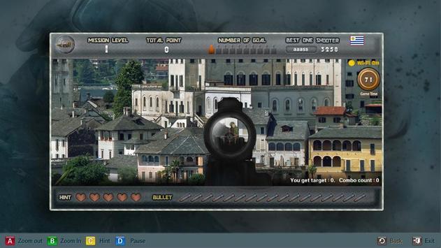 OneShoot TV SniperTrainingLite apk screenshot