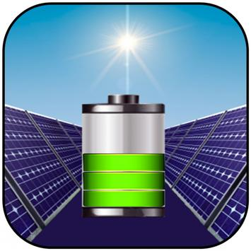 Solar  Battery  Fast Charger poster