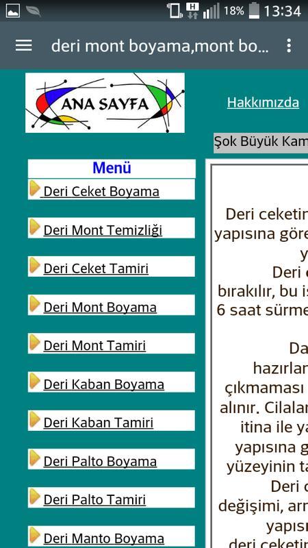 Deri Mont Boyama Ve Onarım For Android Apk Download