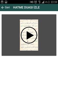 Hatme Duası (Arapça ve Türkçe) apk screenshot
