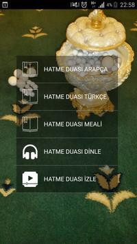 Hatme Duası (Arapça ve Türkçe) poster