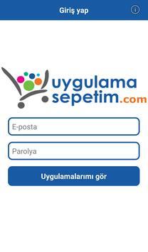 Uygulama Sepetim poster