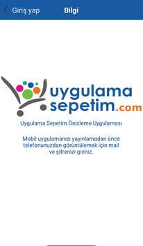 Uygulama Sepetim screenshot 2