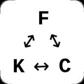 Minimal Temperature Converter icon
