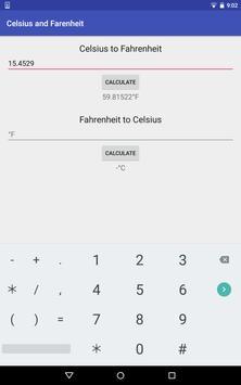 Minimal Temperature Converter apk screenshot