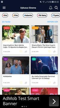 Uykusuz Sinema - Wordpress App Demo screenshot 2