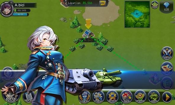 Girls of War screenshot 2