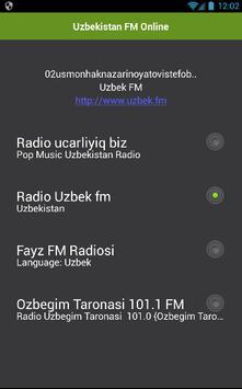 Uzbekistan FM Online poster