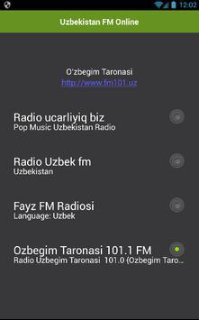 Uzbekistan FM Online apk screenshot