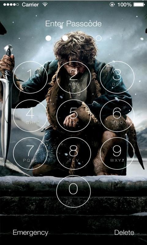 Hobbit 4K Lock Screen cho Android - Tải về APK