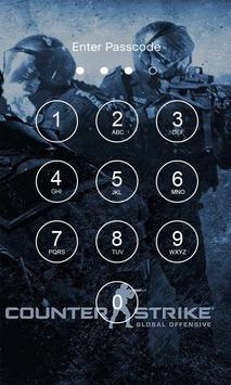 Cs go 4K Lock Screen poster