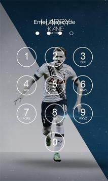 Harry Kane 4K Lock Screen poster