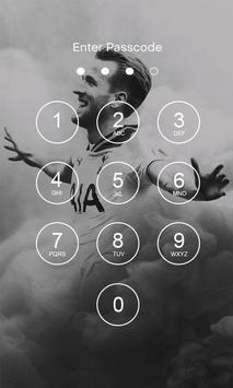 Harry Kane 4K Lock Screen screenshot 1