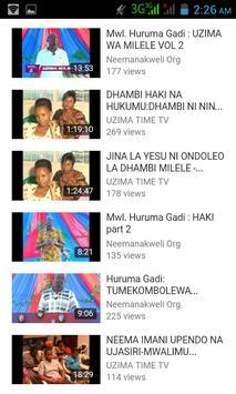 Uzima Time TV - App apk screenshot