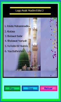 Lagu Anak Muslim Edisi 2 poster