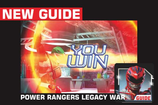 Guide Power Ranger Legacy poster