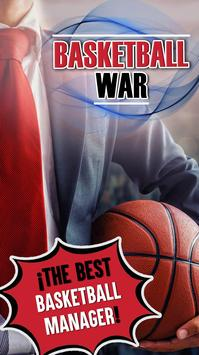 Basketball War 2018 - Basket Manager Game ⛹️ poster