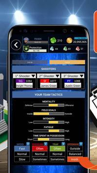 D8 War - Basketball Manager Games 2018 screenshot 2