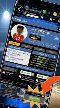 Basketball War 2018 - Basketball Manager Game apk screenshot
