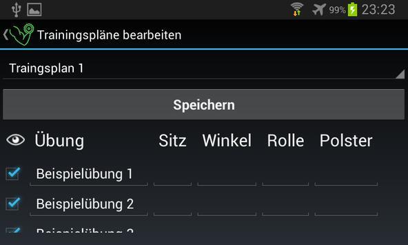 uSimpleWorkout - Trainingsplan App apk screenshot