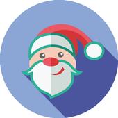 Sliding Santa Clause - cool Christmas game icon