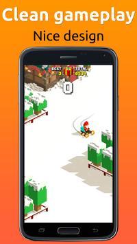 Sliding Santa Clause - cool Christmas game screenshot 2