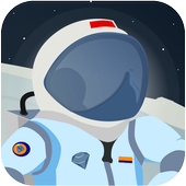 Astronaut run - Escape from space icon