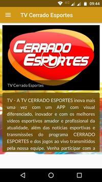 TV Cerrado Esportes screenshot 1