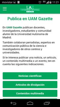 UAM Gazette apk screenshot