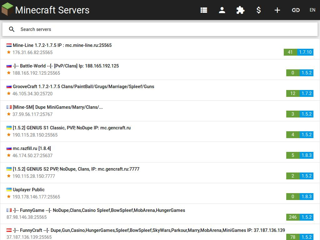 Try These Minecraft 1 7 2 Hunger Games Server Ip {Mahindra