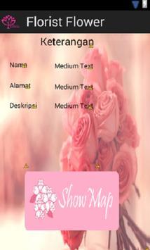 Florist Flower poster