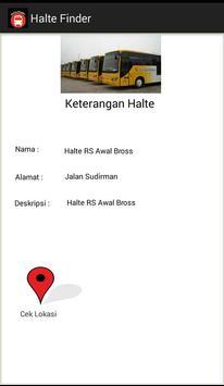 Halte Finder apk screenshot