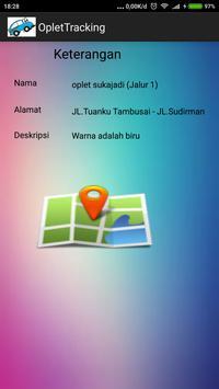 Oplet Tracker Pekanbaru poster