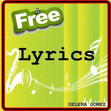 FREE Lyrics of  Selena gomez poster