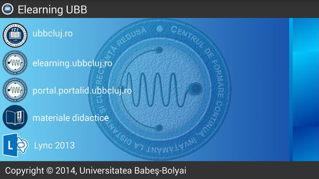 Elearning UBB apk screenshot