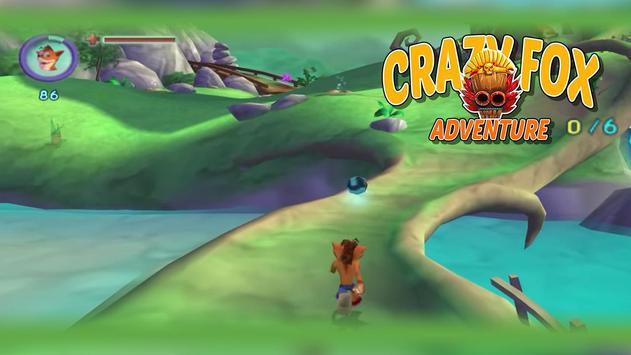 Crazy Fox Bandicoot Adventure poster