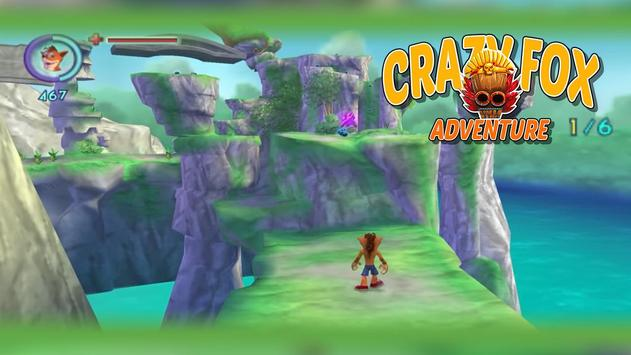 Crazy Fox Bandicoot Adventure apk screenshot