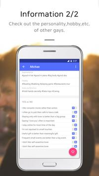 GTing-Gay dating apk screenshot