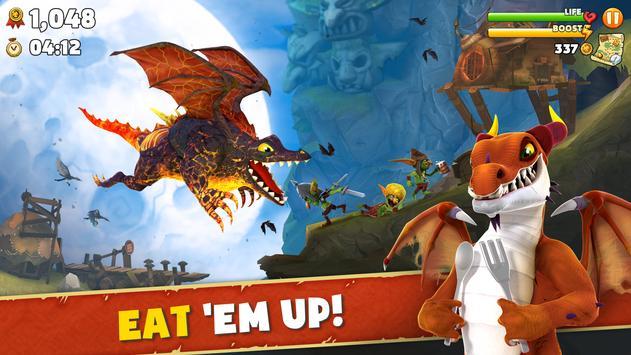 Hungry Dragon™ imagem de tela 1