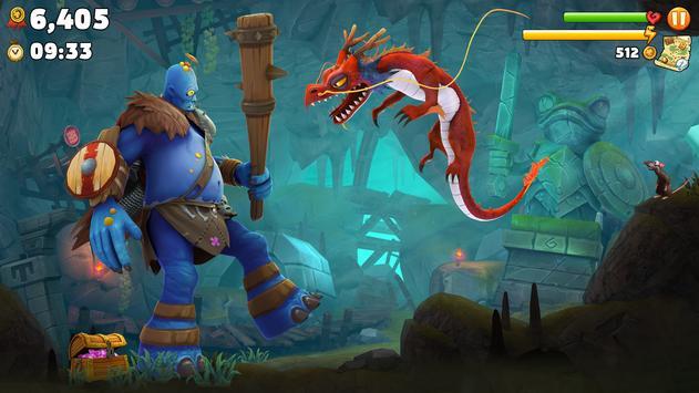 Hungry Dragon™ screenshot 2