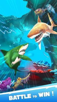 Hungry Shark Heroes captura de pantalla 1