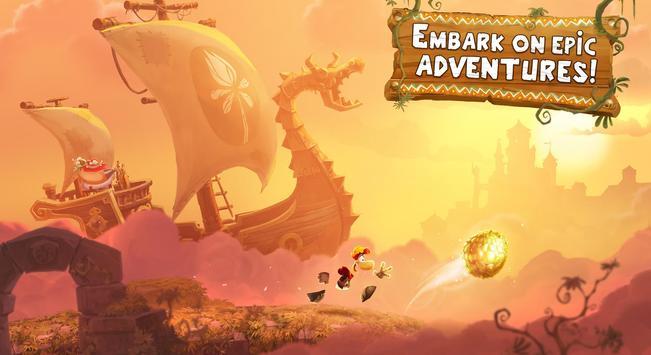 Rayman Adventures poster